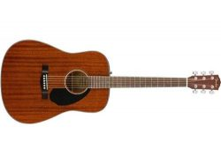 Fender 6 String Acoustic Natural Finish, CD-60S Right, All Mahogany, Guitar (0961702021)