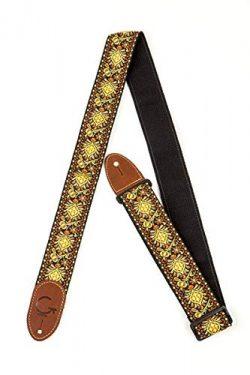 Gretsch G 922-0060-102 Brand Guitar Strap – Yellow/Orange