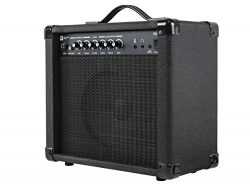 Monoprice 611720 20-Watt 1×8 Guitar Combo Amplifier – Black With 86dB of Gain, 1/4 In ...