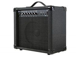 Monoprice 611720 20-Watt 1×8 Guitar Combo Amplifier – Black With 86dB of Gain, 1/4 In ...