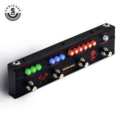 Sonicake Multi Guitar Effect Strip Pedal Sonicbar BLACK HAMMER Combining 4 Moder Heavy Metal Gui ...