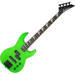 Jackson JS Series Concert Bass Minion JS1X Electric Bass Guitar (Neon Green)