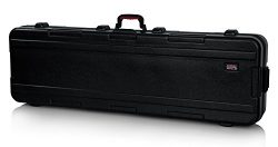 Gator Cases Molded Flight Case for Slim 88-Note Keyboards with TSA Approved Locking Latches and  ...