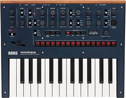 KORG Monologue 25-Key Compact Monophonic Analog Synthesizer – Blue