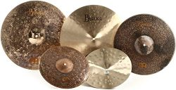 Meinl Cymbals MJ401+18 Mike Johnston Pack Byzance Cymbal Box Set with Free 18″ Byzance Ext ...