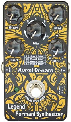 Aural Dream Legend Formant Synthesizer Guitar Effects Pedal with 9 Human Vowels based on expandi ...