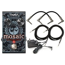 Digitech Mosaic Polyphonic 12 Strings Guitar Effect Pedal for Electric and Acoustic electric gui ...