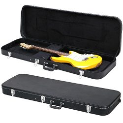 Yaheetech Electric Bass Guitar Hard Case Black