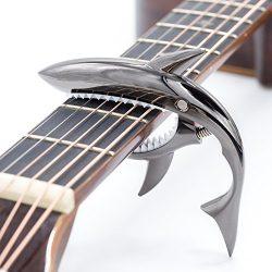 CLOUDMUSIC Shark Capo Acoustic Guitar Capo Electric Guitar Capo Classical Guitar Capo Ukulele Ca ...