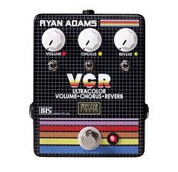 JHS Ryan Adams Signature VCR Ultracolor Volume, Chorus & Reverb Guitar Effects Pedal