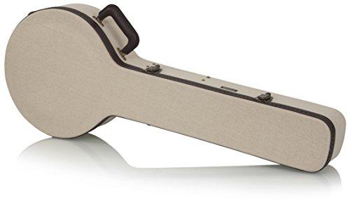 Gator Cases Journeyman Series Deluxe Wood Case for Banjos (GW-JM BANJO XL)