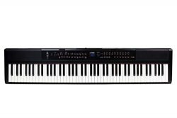 Artesia PE-88 88-Key, Digital Piano (Black) 88-Key with 130+ Dynamic Voices and Semi-Weighted Ac ...