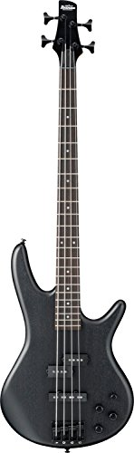 Ibanez 4 String Bass Guitar Right Handed, Weathered Black GSR200BWK