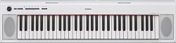 Yamaha PAC 76-Key Lightweight Portable Keyboard, White (power adapter sold separately) – N ...