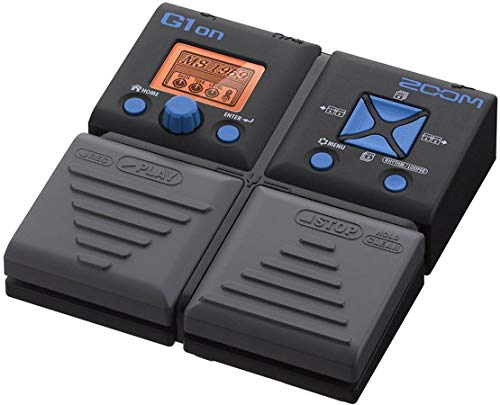 zoom g1on guitar effects pedal musicalbin musicalbin. Black Bedroom Furniture Sets. Home Design Ideas