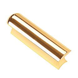 Gold Stainless Steel Guitar Slide Tone Bar for Dobro, Lap Steel Guitar, Hawaiian Guitar, Electri ...