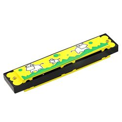 Naimo Children Beginners 16 Holes Harmonica Mouth Organ with Case Musical Instrument Educational ...