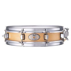 Pearl M1330102 13 x 3 Inches Natural Finish Maple Piccolo Snare Drum