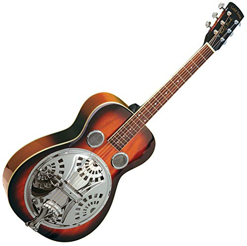 Gold Tone Paul Beard Signature Series PBR Roundneck Resonator Guitar (Vintage Mahogany)