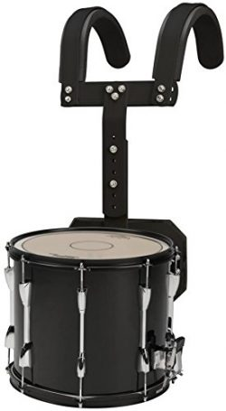 Sound Percussion Labs Marching Snare Drum with Carrier 14 x 12 Black
