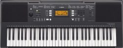 Yamaha PSRE343 61 Key Entry Level Portable Keyboard with Survival Kit B2