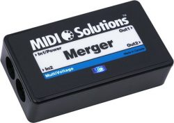 MIDI Solutions 2-input MIDI Merger