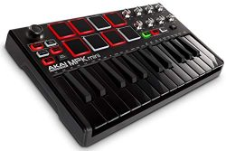 Akai Professional MPK Mini MKII LE Black | Black, Limited Edition 25-Key Portable USB MIDI Keybo ...