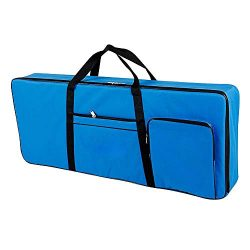61 Key Keyboard Gig Bag Case,Portable Electric Keyboard Piano Waterproof 600D Oxford Cloth with  ...