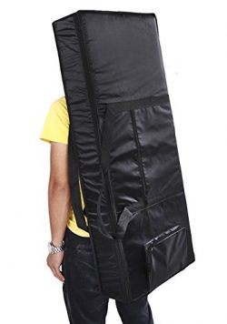 61-Key 54-Key Keyboard Electric Piano Organ Gig Bag Soft Case Dual Zipper 420D Cloth Padded Case ...