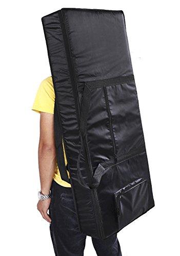 61-Key 54-Key Keyboard Electric Piano Organ Gig Bag Soft Case Dual Zipper 420D Cloth Padded Case ...