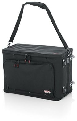 Gator Cases Removable Shoulder Strap, Rack-12.5″) Lightweight 4U Rack Bag with 12.5″ ...