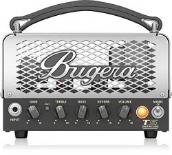 BUGERA T5 5-Watt Cage-Style Amplifier Head with Infinium Tube Life Multiplier and Reverb Multi C ...