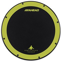 Ahead AHSHPG 14″ Green/Black Percussion Source Practice Pad
