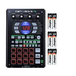 Roland SP-404A Linear Wave Sampler Drum Machine with Pattern Sequencer, 12 Performance Pads, 3 C ...