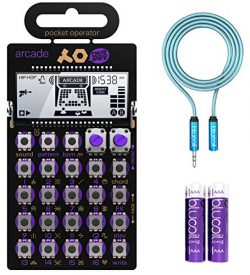 Teenage Engineering PO-20 Arcade Pocket Operator, 16 Sounds, Patterns & Effects Synthesizer  ...