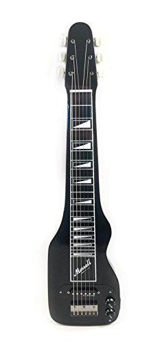 Morrell PLUS Series 6-String Lap Steel Guitar Gloss Black Finish USA