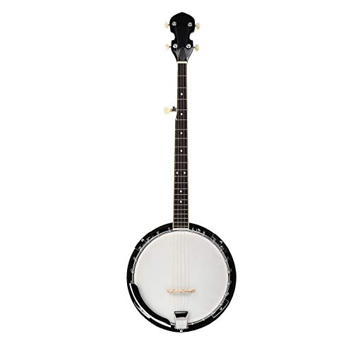 lagrima banjo 5 string uke ukulele banjolele w bag for beginner 40 6 inch size natural wood. Black Bedroom Furniture Sets. Home Design Ideas