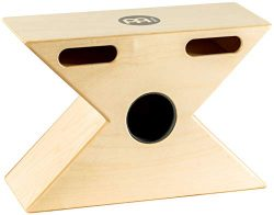 Meinl Percussion Hybrid Slaptop Cajon Box Drum with Snare and Bongo, Forward Sound Ports-Made in ...