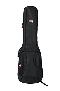 Gator Cases 4G Series Gig Bag For Bass Guitars with Adjustable Backpack Straps; Fits Precision a ...