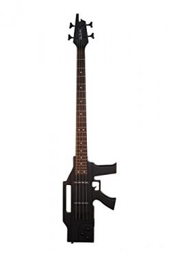 Directly Cheap 4 String Bass Guitar Black (GB47-BK+Lessons