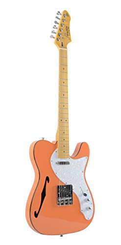 Firefly FFTH Semi-Hollow body Guitar (Orange)