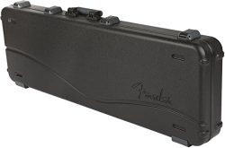 Fender Deluxe Molded Jazz and Precision Electric Bass Guitar Case – Black