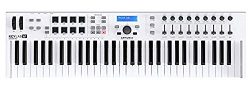 Arturia KeyLab Essential 61 Universal MIDI Controller and Software (White)
