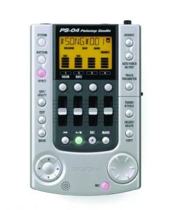 Zoom PS04 Palmtop Studio Multitrack Digital Recorder (4 Tracks)
