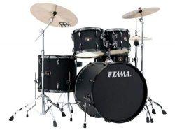 Tama Imperialstar Complete Drum Set – 5-piece – Black with Black Nickel Hardware