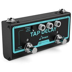 Donner Multi Guitar Effect Pedal Tap Delay 3 Delay Modes Analogue, Digital, Reverse