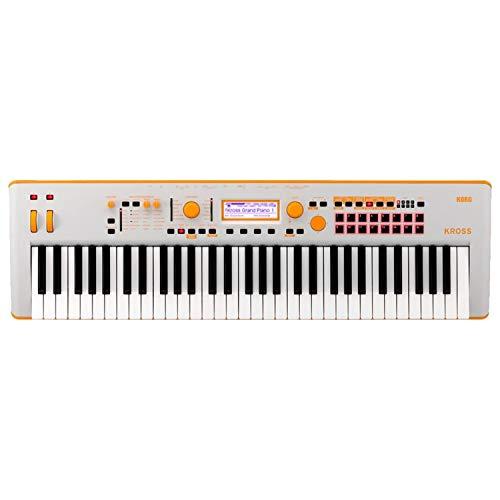 Korg Kross2 61-Key Keyboard Workstation (Neon Orange)