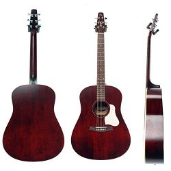 Seagull S6 Original Acoustic Guitar Limited Edition Tennessee Red with Bag