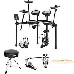 Roland V-Drums TD-1DMK Electronic Drum Set Bundle