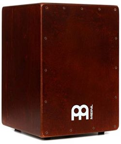 Meinl Percussion Cajon Box Drum with Internal Snares – MADE IN EUROPE – Baltic Birch ...